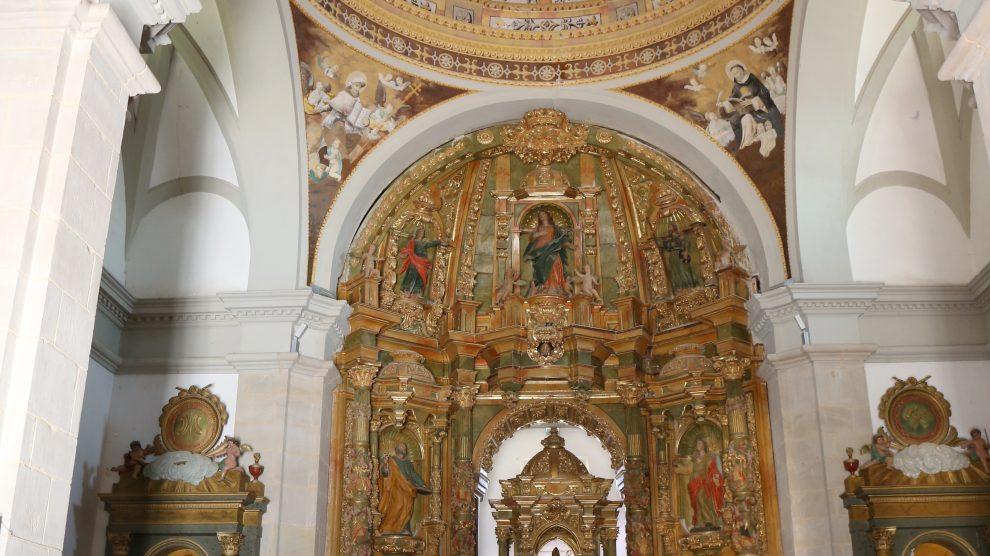 Retablo Basílica de San Marcial