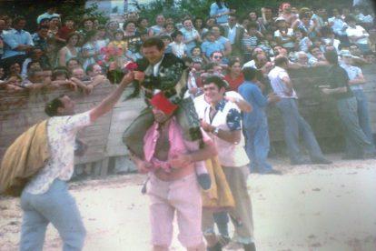 Plaza de toros de Lardero en 1975