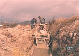Canalización del río Sequeros