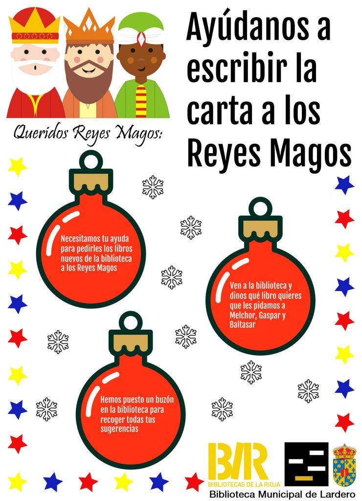 Cartel Carta a los Reyes Magos