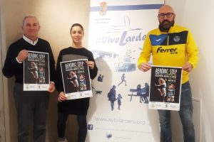 El polideportivo municipal de Lardero acoge este sábado una master class de aeróbic y step