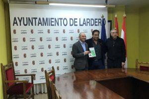 Visita del alcalde de Satipo (Perú) a Lardero