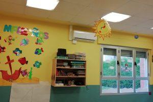 El Ayuntamiento destina 9.000 euros a diferentes mejoras en la Escuela Infantil Los Almendros