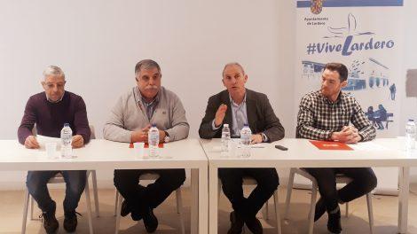 Ayuntamiento de Lardero y los representantes de los trabajadores suscriben un acuerdo laboral que incluye la recuperación de 35 horas semanales en 2020