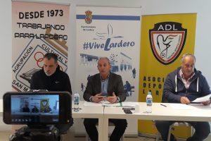 El Ayuntamiento de Lardero suscribe sendos convenios con ADL y San Marcial por su trabajo en la promoción del deporte base