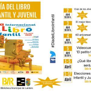 Actividades Día del Libro Infantil y Juvenil