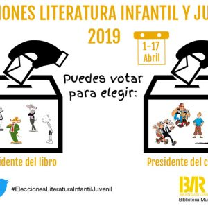 Elecciones Literatura Infantil y Juvenil 2019
