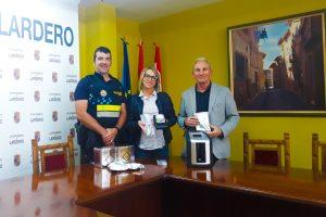 La Policía Local de Lardero incorpora un sistema para la realización de test de drogas en controles de tráfico