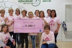 La III Marcha de la Mujer de Lardero obtiene una recaudación de 11.000 euros