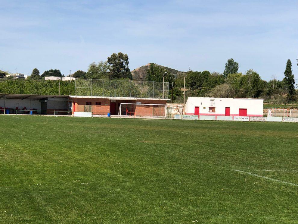 El Ayuntamiento de Lardero adjudica la reforma de los vestuarios del campo de fútbol municipal