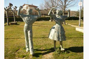 Ensayos para participar en la danza en honor a San Marcial