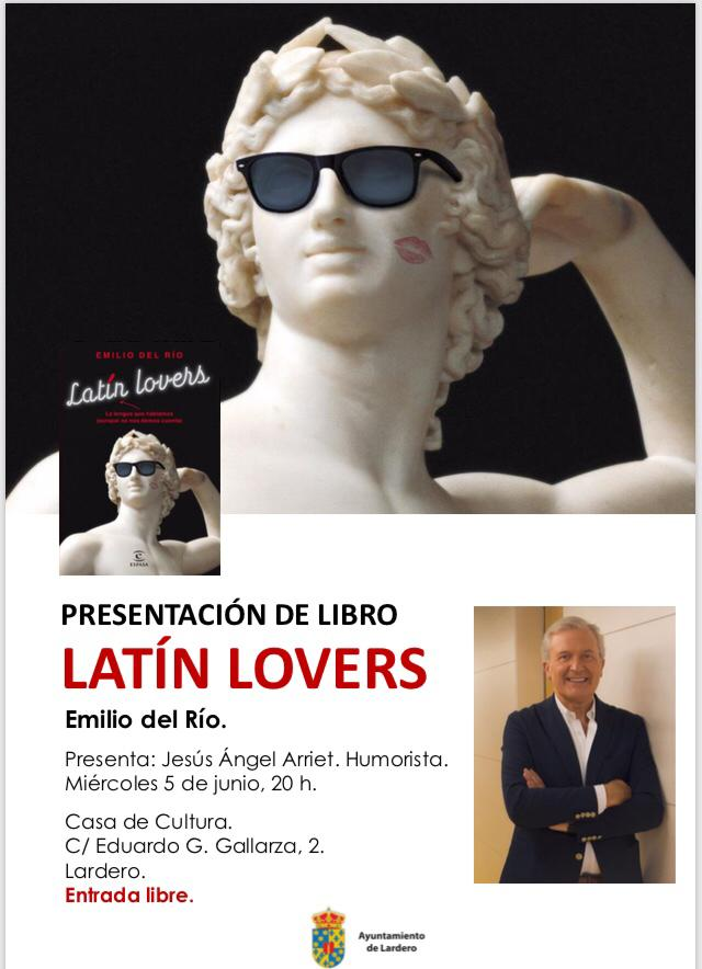"""Presentación del libro: """"Latín Lovers"""""""