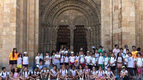 Campamento de verano en la Granja Escuela El Trasto