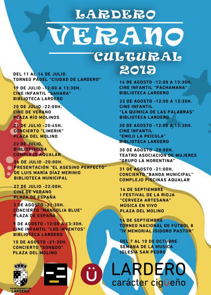 Verano Cultural de Lardero 2019
