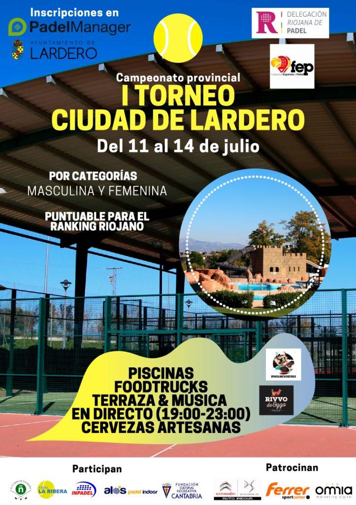 Cartel I Torneo Ciudad de Lardero