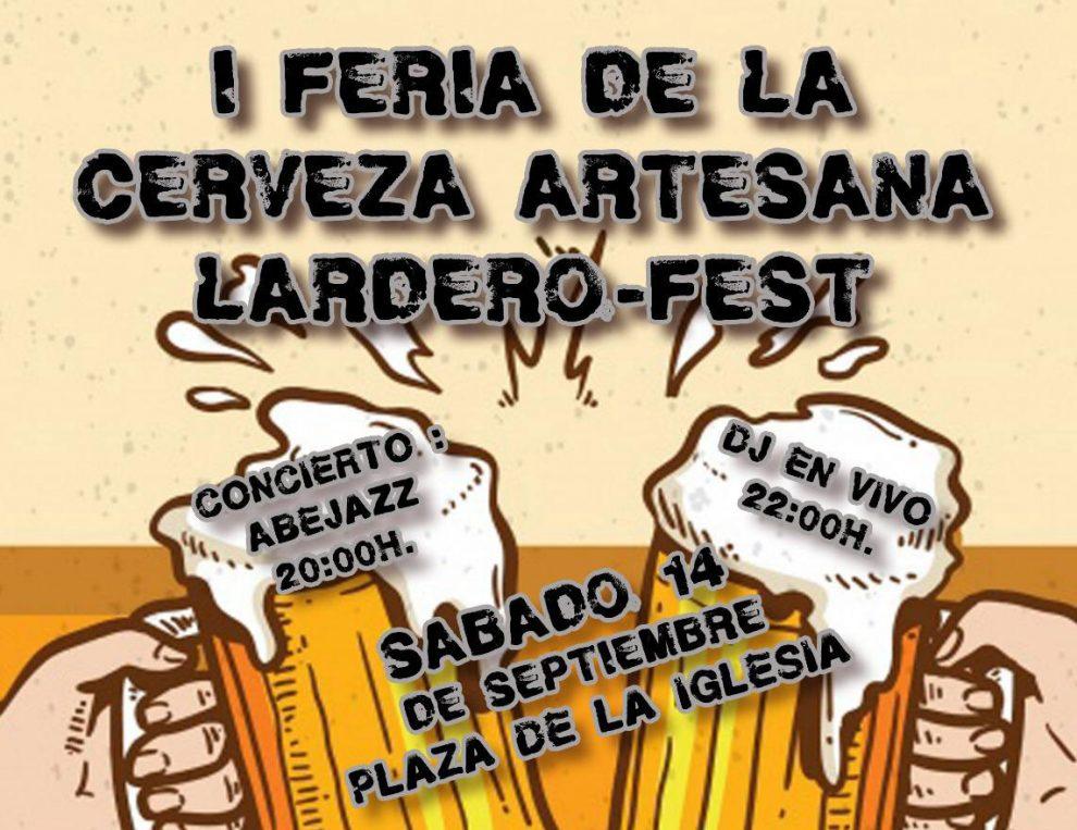 """I Feria de la Cerveza Artesana """"Lardero-Fest"""""""