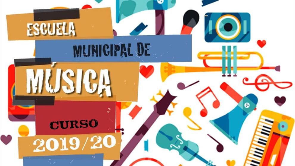 Escuela de Música: abierto el plazo de inscripción