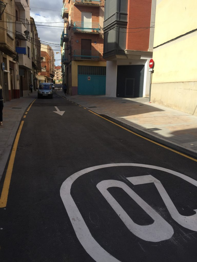 Apertura de la calle Eduardo González Gallarza
