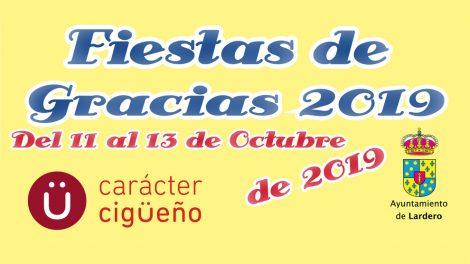 Fiestas de Gracias 2019 - Programa