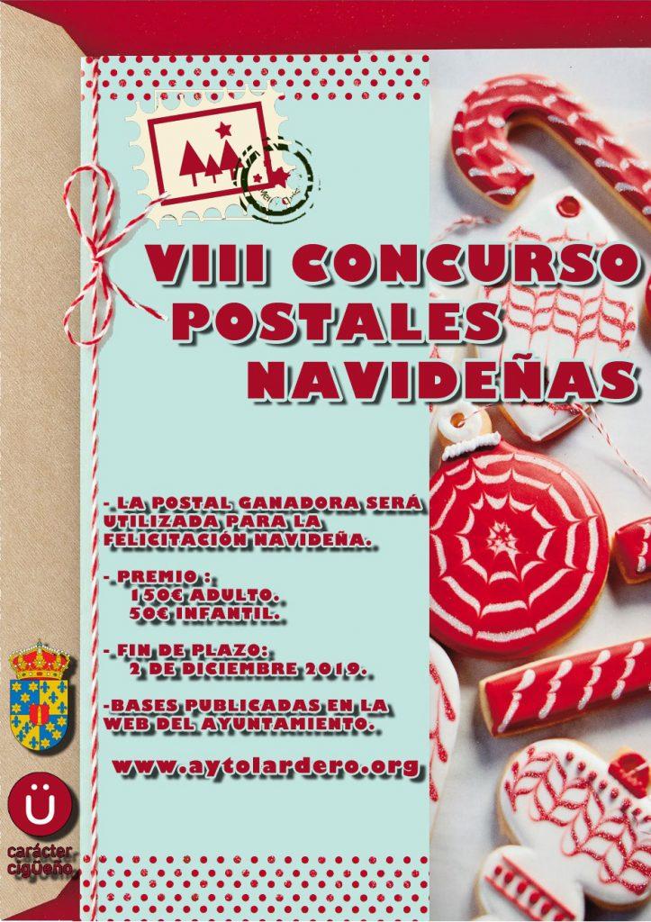 VIII CONCURSO DE DISEÑO DE POSTALES NAVIDEÑAS