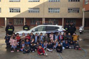 Celebración del día de la Policía
