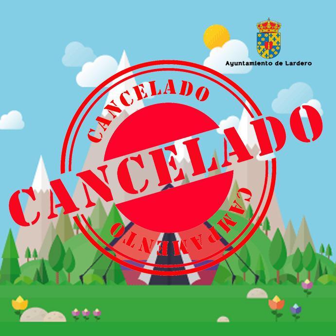 suspendido campamento de verano de Lardero 2020