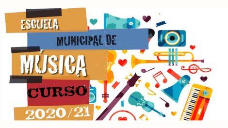 200824 ZABIERTO PLAZO INSCRIPCION ESCUELA DE MUSICA