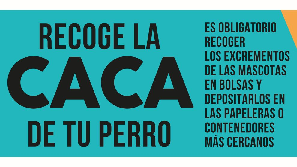200901 RECOGE LA CACA DE TU PERRO