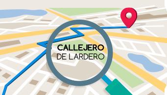 Callejero de Lardero