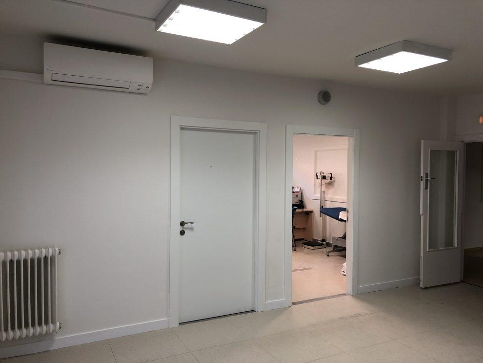 Concluyen las obras de mejora de la zona de pediatría del Consultorio Médico