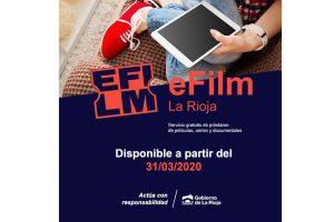 eFilm La Rioja. Nuevo servicio de la Red de Bibliotecas de La Rioja